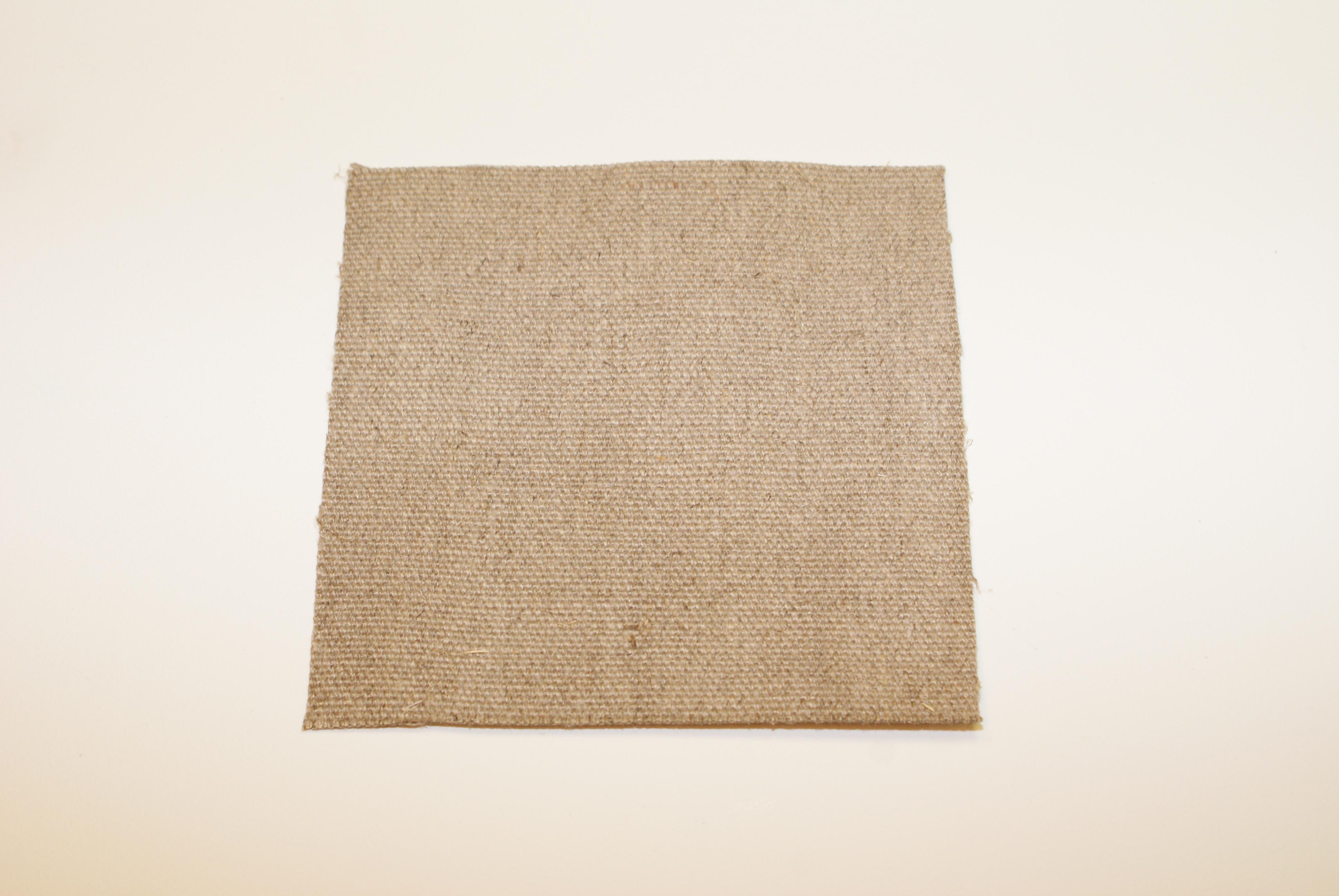 Canvas/hørdug 102 cm bred 630 gr. Natur